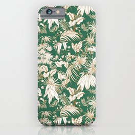 Great greenish jungle iPhone Case