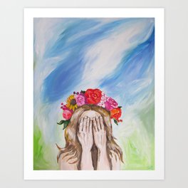 Beauty in the Broken Art Print