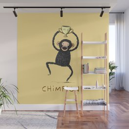 Chimpion Wall Mural