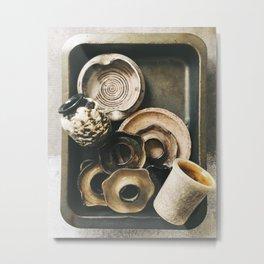 Ceramics Metal Print