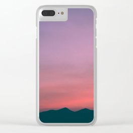 atardecer Clear iPhone Case