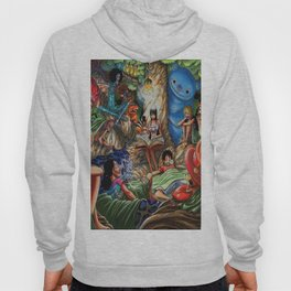 One piece of sleep with friends Hoody