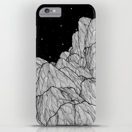 Rocks of the moon iPhone Case
