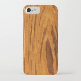 Teak Wood iPhone Case