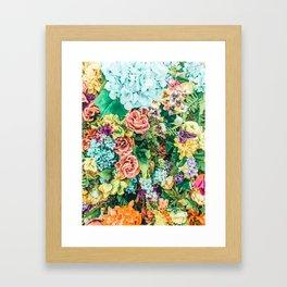 Vintage Garden #digital #nature Framed Art Print