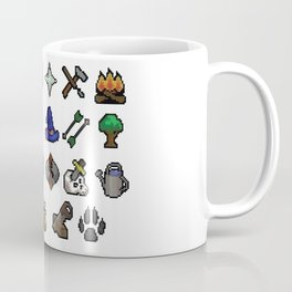 Old School Runescape Skills Coffee Mug