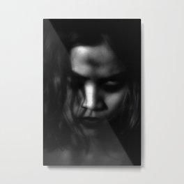 Queen of The Dark Metal Print