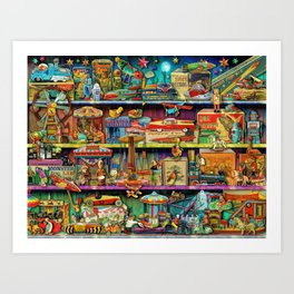 Toy Wonderama Art Print