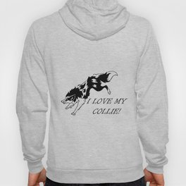 I LOVE MY COLLIE TRIBAL Hoody