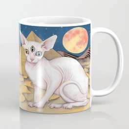 Sphinx Cat Coffee Mug