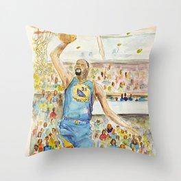 Durant_basketball player Throw Pillow