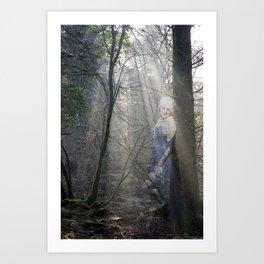 Shades. Lily 2 Art Print