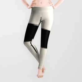 Abstract Square Form Leggings