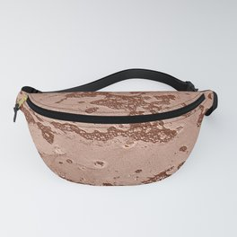 Bubbles in rich brown mud Fanny Pack