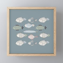 Fishky Framed Mini Art Print