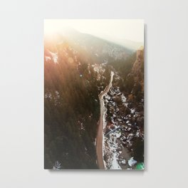 Mountain Abyss Metal Print