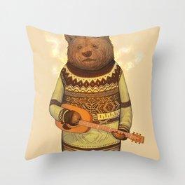 Seabear Throw Pillow