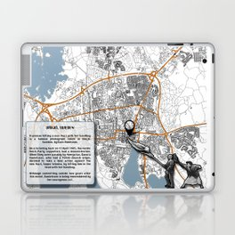Atlas of Inspiring Protests; VÄXJO Laptop & iPad Skin