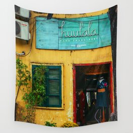 The House Old in Autumn Hanoi, Vietnam Art Print Wall Tapestry