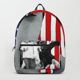 American Woman Acrylic Backpack