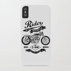 Rider Slim Case iPhone X