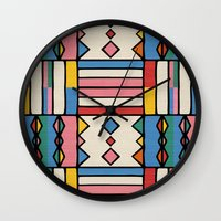journey Wall Clocks featuring journey by spinL