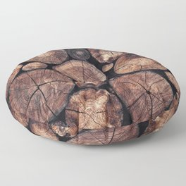 The Wood Holds Many Spirits Floor Pillow