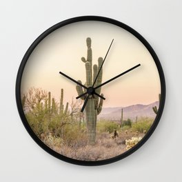 Arizona Desert Wall Clock