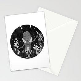 El monstruo de la laguna negra Stationery Cards
