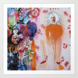 Mrs Robinson 568 Art Print