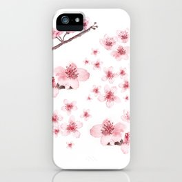 Sky blossoms iPhone Case