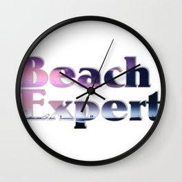 Beach Expert Wall Clock