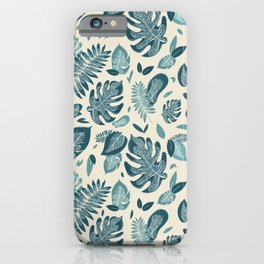 WILD - Jungle Foliage  iPhone Case