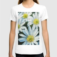 daisies T-shirts featuring daisies by Barbro Paulsson