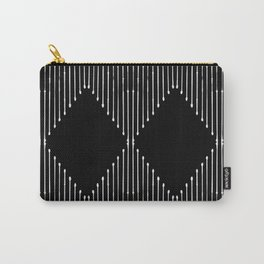 Geo / Black Carry-All Pouch