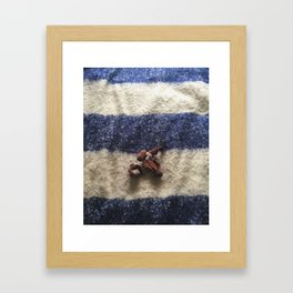 Chesterfield / Chewed Toy Framed Art Print