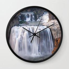 Shoshone Falls in Twin Falls, Idaho Wall Clock