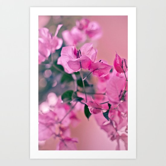 Mother's Day series - light pink Art Print