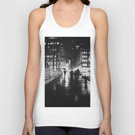 New York City Noir Unisex Tank Top