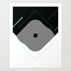 Op Art Art Print