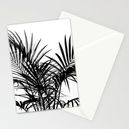 Little palm tree in black Stationery Cards