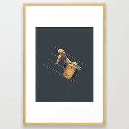 NOT The Death of Marat Framed Art Print
