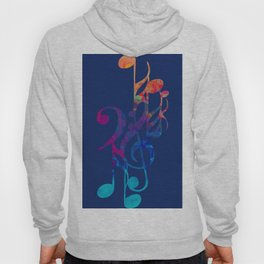 I love musical notes #6 Hoody