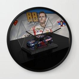 My Dale Jr. Super Man art. Wall Clock