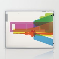 Shapes of Madrid. Accurate to scale. Laptop & iPad Skin
