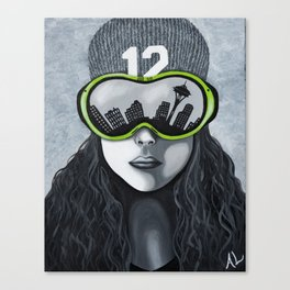 12th Woman Canvas Print