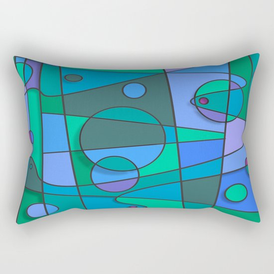 Abstract #75 Rectangular Pillow