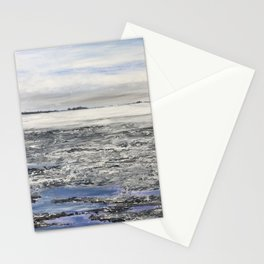 Low Tide at Snettisham Beach Stationery Cards