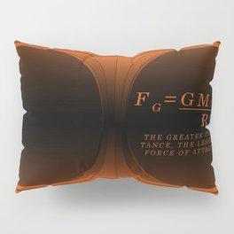Black Hole gold. Pillow Sham