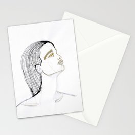 Wet hair Sue Stationery Cards